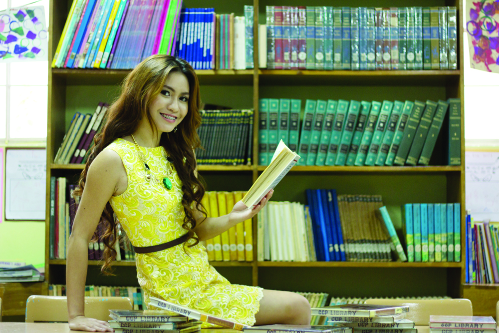 FINDING HER BALANCE IN BOOKS. Rachel Chloe Palang's passion is to share the love for reading, which has broadened her views, as well as given her a sense of balance.