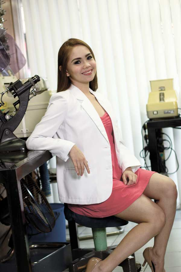 Dr. Bianca Acebedo Lopez is a woman of many plans, one of which is to strengthen the brand name of the family's eye clinic.
