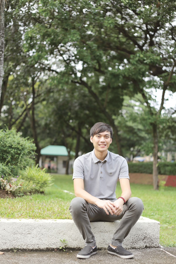 YOUNG MAN WITH A VISION. Eric Paolo Smith is co-founder of the Youth for Livable Cebu (YLC), which envisions positive, responsible communities within a sustainable environment.