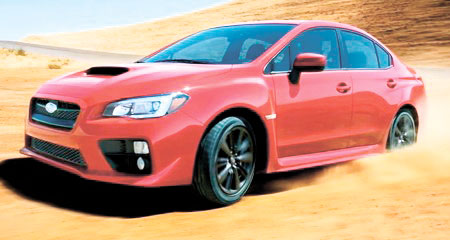 The all-new 2014 Subaru WRX.