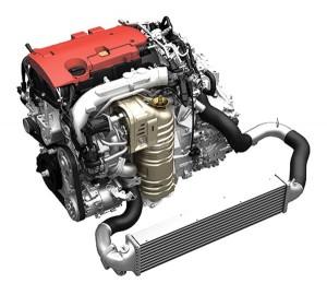 The all-new direct injection turbo VTEC Honda engine boasting of 270+ horsepower.