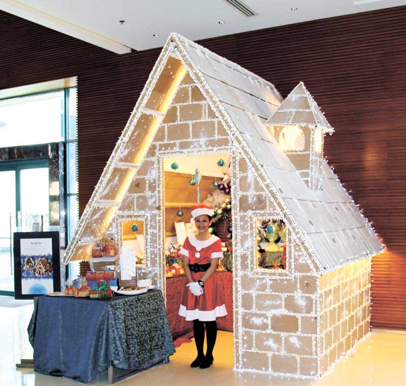 Gingerbread House at Radisson Blue