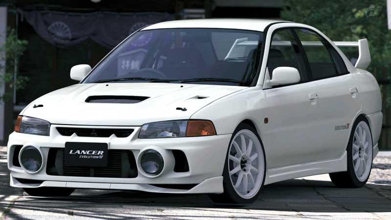 Mitsubishi Lancer Evolution IV (Image from the web)