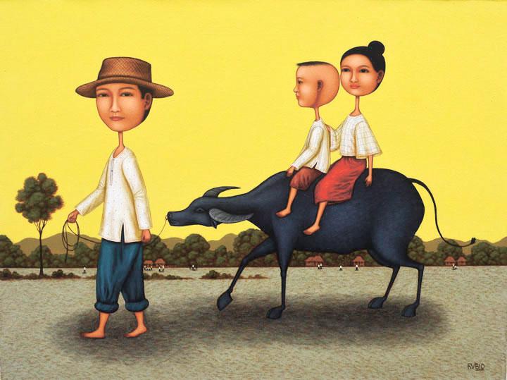 A Carabao Ride