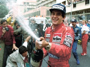AYRTON SENNA. The F1 racing great died in an accident on race day of the San Marino Grand Prix on May 1, 1994. (AP FOTO)