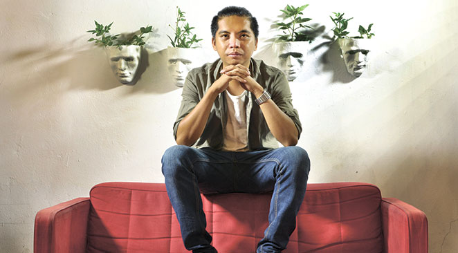 PAYING ATTENTION. With a penchant for truthfulness and candid narratives, Remton Zuasola gets his ideas from being observant of those around him. He wrote the screenplay for all his films except for one.