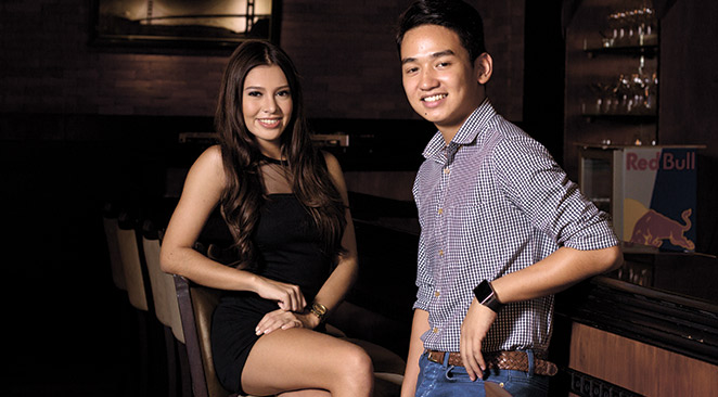 BEST NIGHTLIFE BUDDIES. Having grown up in the same neighborhood, Jessika and Kiko have known each other since they were kids. Now, they've found themselves in a different playground – the party scene – doing what they love best:  conceptualizing and hosting events to gather a crowd.