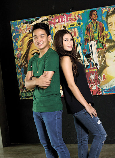 IT TAKES TWO. Best friends Jessika Knight and Kiko Kintanar, who know what it takes to breathe life into the party, have set the bar in Cebu's vibrant nightlife scene.