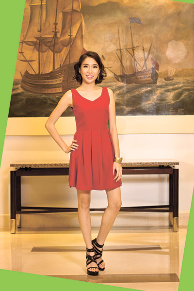 COMMUNITY CRUSADER. Fiona Jade Lim is a co-founder of the community group Youth for Livable Cebu. Driven by her passion to bring back nature into the urban jungle, she introduced and spearheaded YLC's vertical farming project. Now, she has her hands full with a community outreach program.