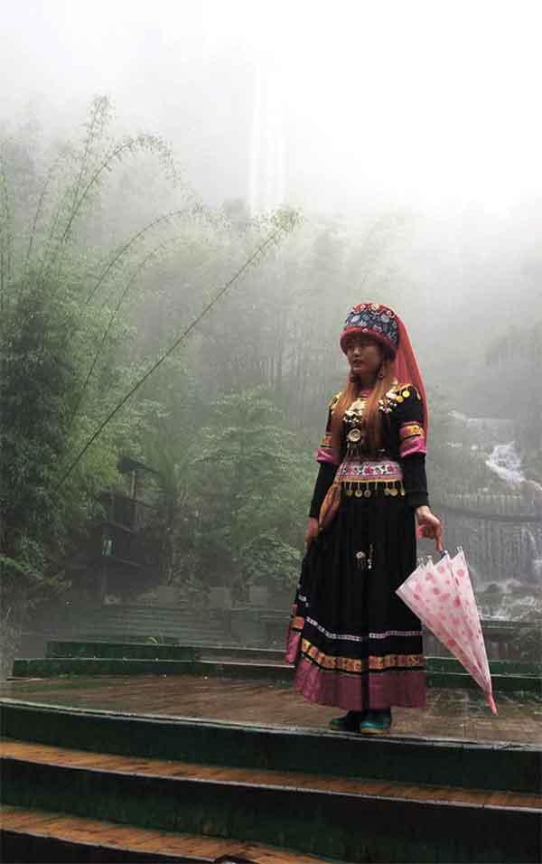 A Tujia woman