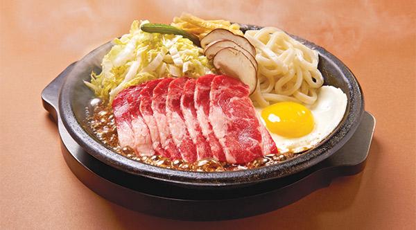 Beef Sukiyaki with Udon