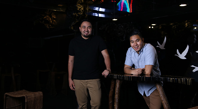 SCENE AND HEARD. Meet the resident DJs of Den, brother DJs Gino and Gio Visitacion, whose sound reverbs throughout the country's clubbing scene.