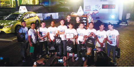 TOP 10. The top 10 winners of the Subaru Palm Challenge Cebu Leg, all of whom clocked more than 12 straight hours in tough weather conditions. (CONTRIBUTED FOTO)