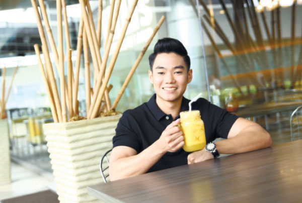 INSPIRATION. Kelly takes inspiration from how his grandparents who continuously innovated and developed the Laguna Group from a small, home-based eatery in Lahug, Cebu City into a diversified company.