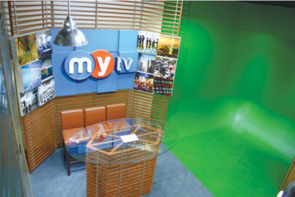 MYtv's new quarters is home to three studios
