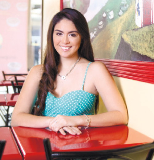 NEW VENTURE. Having been to 201 cities across 27 countries, Celeste Rodriguez must now have one colorful resume. So what's this beautiful lady with a nomadic spirit up to this time? She's venturing into the food business as the first franchisee of Kublai Khan Mongolian Restaurant.
