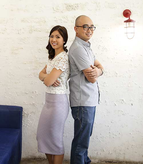 A DUO FOR YOU. Meet Cara Riña and Dexter Tanengsy, founders of Project Me Co., which offers programs that specialize in personal development trainings hinged on financial literacy for young Cebuanos.