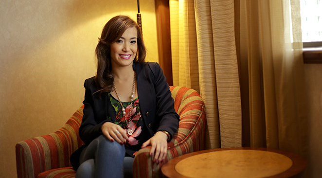 HEAD OVER HEELS. Having been with the Cebu City Government for four years, Leslie Ann Reyes is head of its protocol office, overseeing, among others, etiquette and protocol surrounding official events, and making sure visiting dignitaries are properly attended to. All that work, she says, involves a lot of running around, oftentimes, in heels.