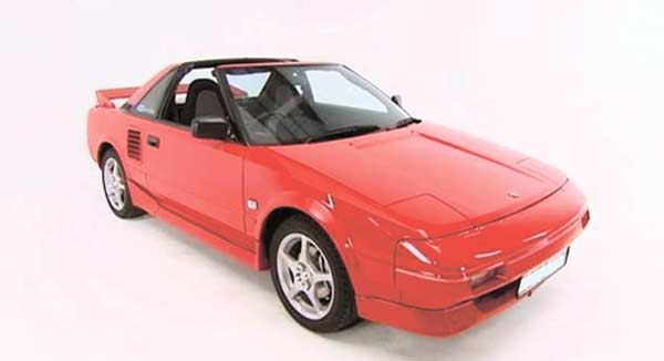 "ICONIC SPORTS CAR. A US Spec AW11 Toyota MR2, regarded as the ""most fun-to-drive"" car in the 1980s. (CONTRIBUTED FOTO)"