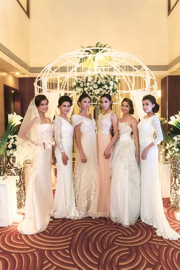 Origin Model Management wearing the collection of Cebu's premier fashion designers.