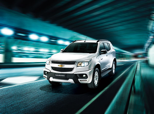 TRAILBLAZER. The new Chevrolet Trailblazer 4x4 LTZ Special Edition (SE) AT is one of the five new Trailblazer variants launched at the the 2015 Manila International Auto Show. (CONTRIBUTED FOTO)