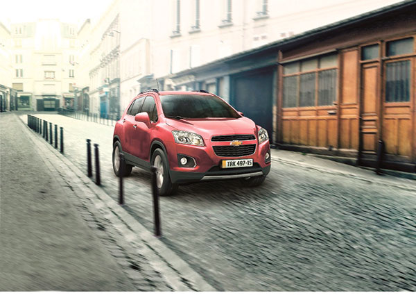 CHEVROLET TRAX. Chevrolet Philippines says the Chevrolet Trax offers power, practicality, and stable, sedan-like ride comfort that will set new standards for quality, performance and safety for small SUVs. (CONTRIBUTED FOTO)