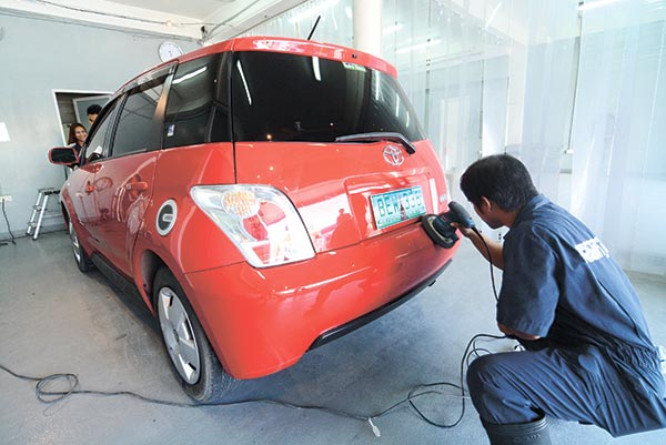 IDEAL COAT. What's the ideal car paint protection for the country's unpredictable weather? A coating service pioneer says it has the answer.