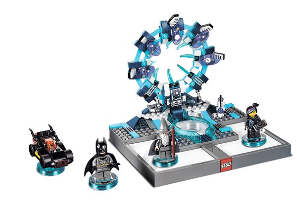 """THE interactive LEGO ToyPad for the """"LEGO Dimensions"""" video game. (AP FOTO)"""