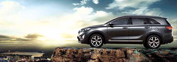 ALL-AROUND CAR. The all-new 2016 Kia Sorento combines bold exterior styling and impressive all-around performance. With its 2.2 CRDi Diesel engine, intelligent Dynamax All-wheel-drive System and Magna Powertrain, the Sorento is designed to provide a truly enjoyable driving experience, making it a car that's fit for adventure yet blends perfectly with the cityscape.