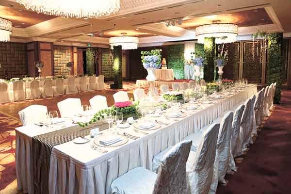 Mactan Ballroom Reception Setup 1