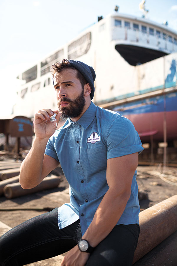 Mechanic Shirt (light blue)