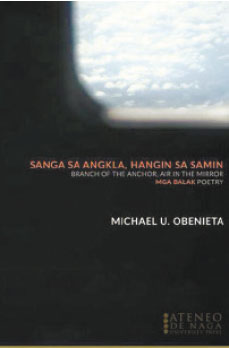 "BOOK LAUNCH. Myke Obenieta's second book of poetry ""Sanga sa Angkla, Hangin sa Samin"" will be launched during the Cebu Literary Festival 2015 at the Ayala Center Cebu on June 20."