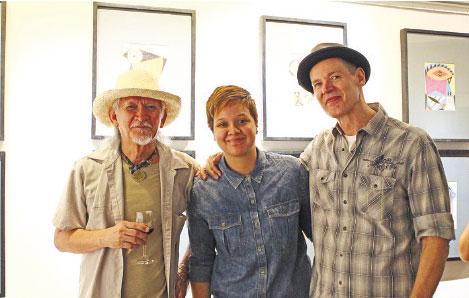 Nune Alvarado, Margie Zenz, and Stephan Zenz