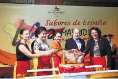 Maripaz Perdices, Gema Pido, Amparito Lhuillier, Jaime Picornell and Julie Najar