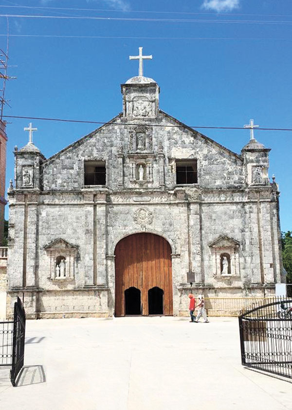 Sts. Peter & Paul Parish Church in the Municipality of Bantayan