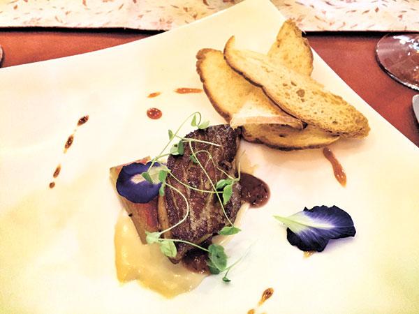 Foie Gras de Canard, Watermelon, Pastilla de Leche