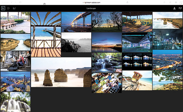 When using Lightroom CC, you can now share your collection over the web and allow collaborators to rate and put comments to the image.
