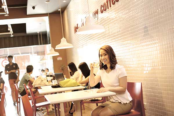 BREWING CHANCE. Apart from helping in the family's real estate business, Trishia Rose Lim knew what she wanted: open a coffee shop. She didn't have to, though, when one was offered for sale and she jumped on the opportunity.