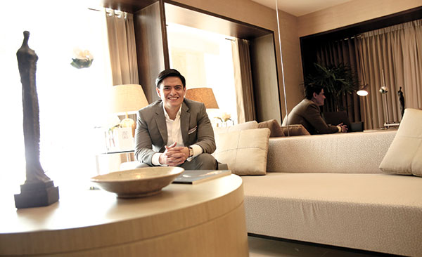 """REAL ZEAL. As sales director for Visayas and Mindanao of Ayala Land Sales Inc., Allan Ong Jr. finds a sense of fulfillment in helping people achieve their dreams in the real estate industry. Of course, he's also thrilled to be assigned in what he calls """"the beautiful island of Cebu."""""""