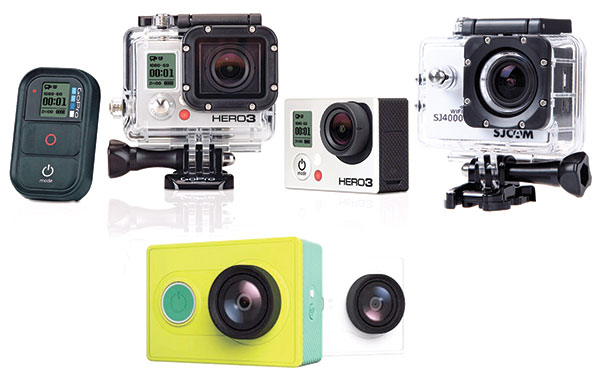 GoPro is still the leader among action cams in terms of performance. SJ had some issues before but pulled it through with firmware upgrades. Xiaomi, on the other hand, is very promising in terms of quality, reliability and price. It's the cheapest of them all but surprisingly good.