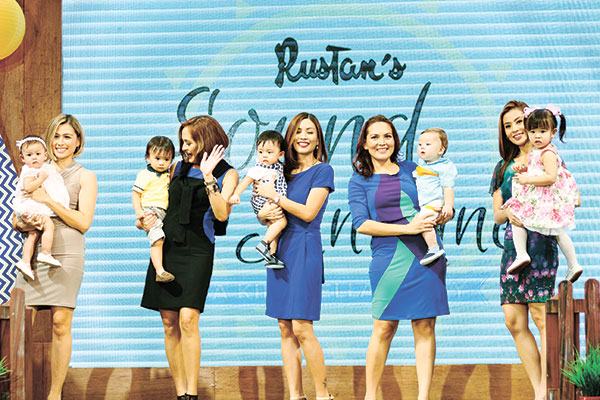 Jen Martinez & daughter Tali, Eunice King & son Jordan, Shieny Yu & son Nin_o, Monique Jarque & son Iago, Danessa Onglatco & daughter Eliana (2)