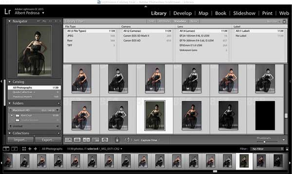 Lightroom's library filter is one of the most useful features when you're managing thousands of images in your catalog.