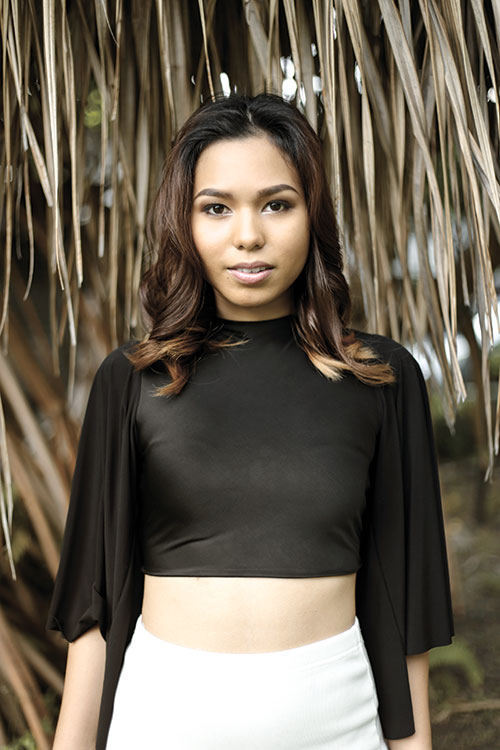 NEW CHALLENGE. Following her stint in Project Runway Philippines Season 4 where she landed in the top three, 22-year-old Cebuana Celine Borromeo embarks on a new challenge: an internship with a world-renowned fashion designer.
