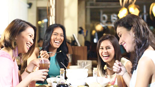"""FOOD FOR THOUGHT. From over a hundred photo and video entries submitted by diners nationwide, nine stories were handpicked as winners in Golden Cowrie's and Hukad's nationwide campaign called """"Kwentong Salu-Salo."""" (CONTRIBUTED PHOTO)"""