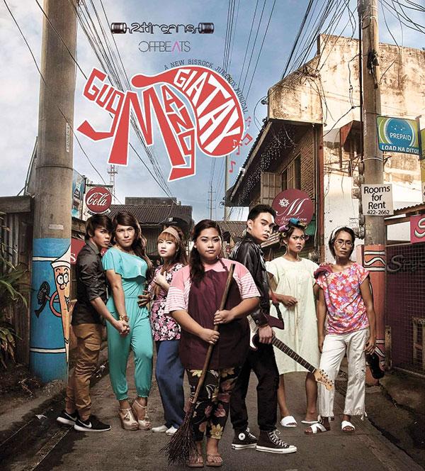 Gugmang Giatay, Musical play poster