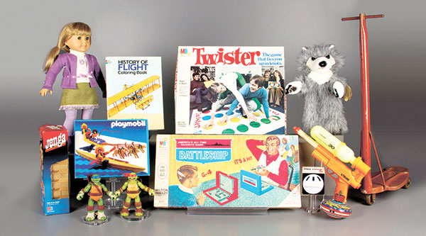 LEGENDARY TOYS. The 2015 finalists for induction into the National Toy Hall of Fame. The two winners will be inducted into the hall at The Strong museum on Nov. 5. (AP PHOTO)