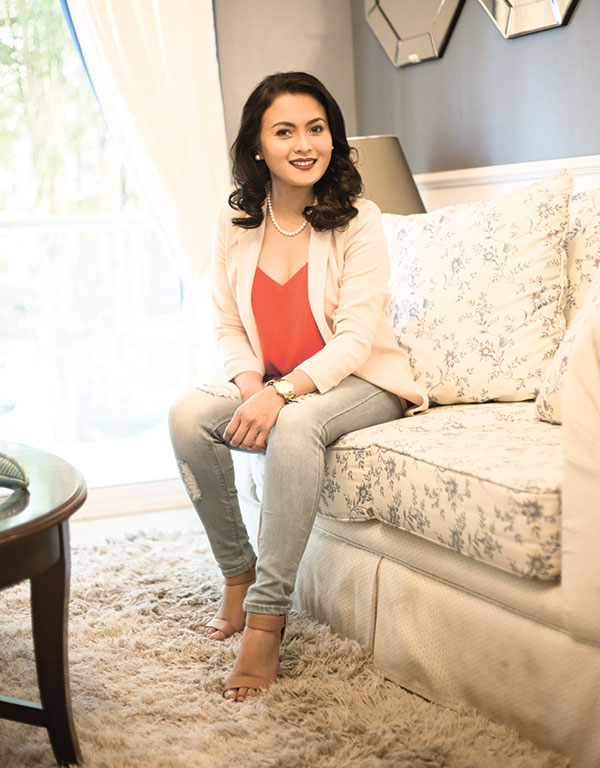 ON SOLID GROUND. After learning life's ropes through a number of businesses and career shifts, Aeda Mae Siao finally found her career path in real estate.
