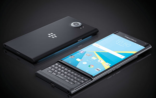 BLACKBERRY PRIV. The company isn't giving up on BlackBerry 10, but it has released its first Android phone to lure those who want the wide array of apps available on Android, but not Blackberry. (AP PHOTO)