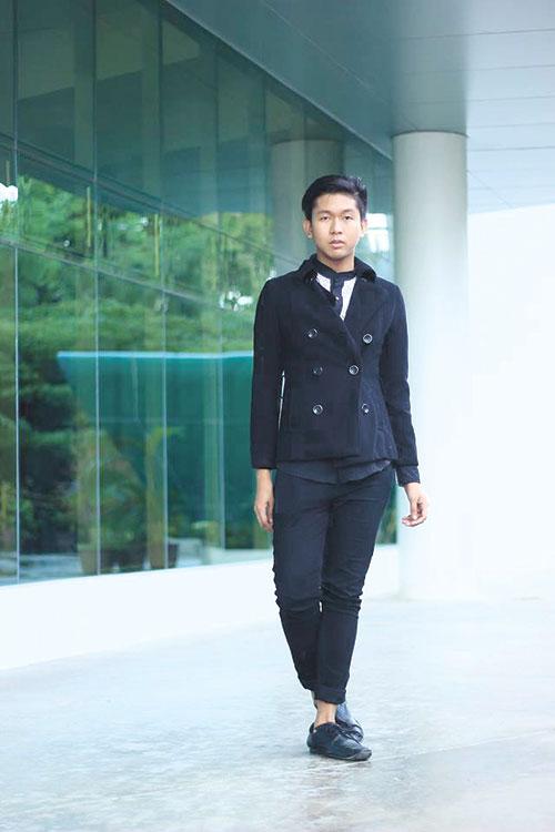 RATED CORPORATE. Classy corporate attire ukay-ukay ensemble. (PHOTO BY CHRISTYL PELAYO)