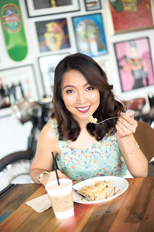 MORE THAN A FOODIE. Justinne Lou Go is not just your everyday food blogger — as a chef and licensed nutritionist, she's taken the art of being a foodie to the next level.